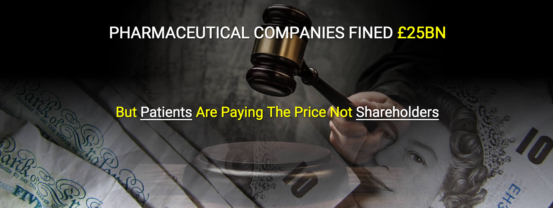 Drug Firms Guilty - Profits Before Patients